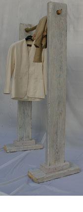 Garderobenständer Seitenaufnahme