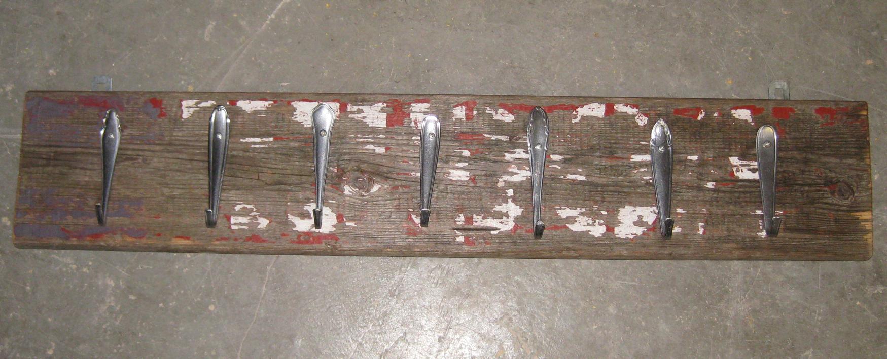 Herstellung Treibholzgarderobe