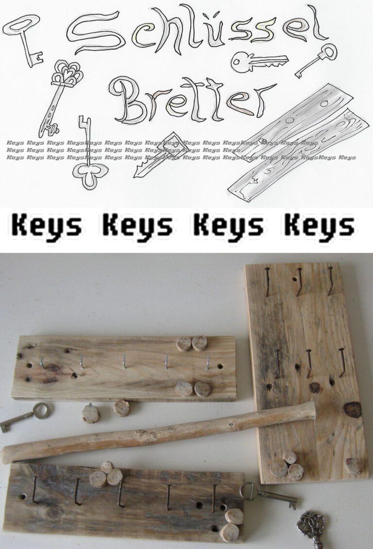 Endlich wieder Diy-Ideen für neue Schlüsselbretter aus Treibholz