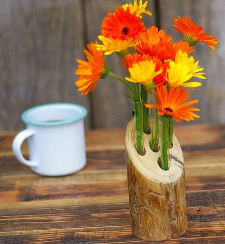 Sommerzeit ist Blumenzeit – wir zeigen unsere Vasenideen zum Selbermachen