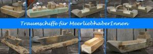 Traumschiffe für MeerliebhaberInnen – Diy Idee für Holzreste