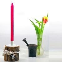 Lust neue Kerzenhalter zu basteln? Hier findest du ein paar einfache Ideen