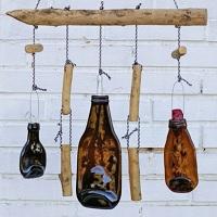 Ideen für schöne Windspiele mit Treibholz