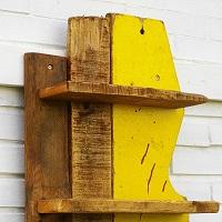 Tolle Ideen für Holzregale, möglichst aus Upcycling- und Treibholz