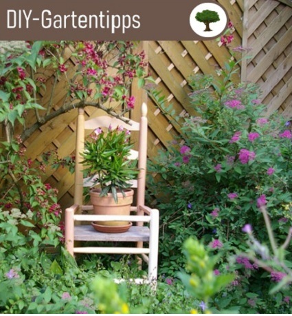 DIY Garten Ideen Blog mit vielen Diy Ideen für Gartendeko und Möbel für nachhaltiges Leben und Upcycling Kunst.
