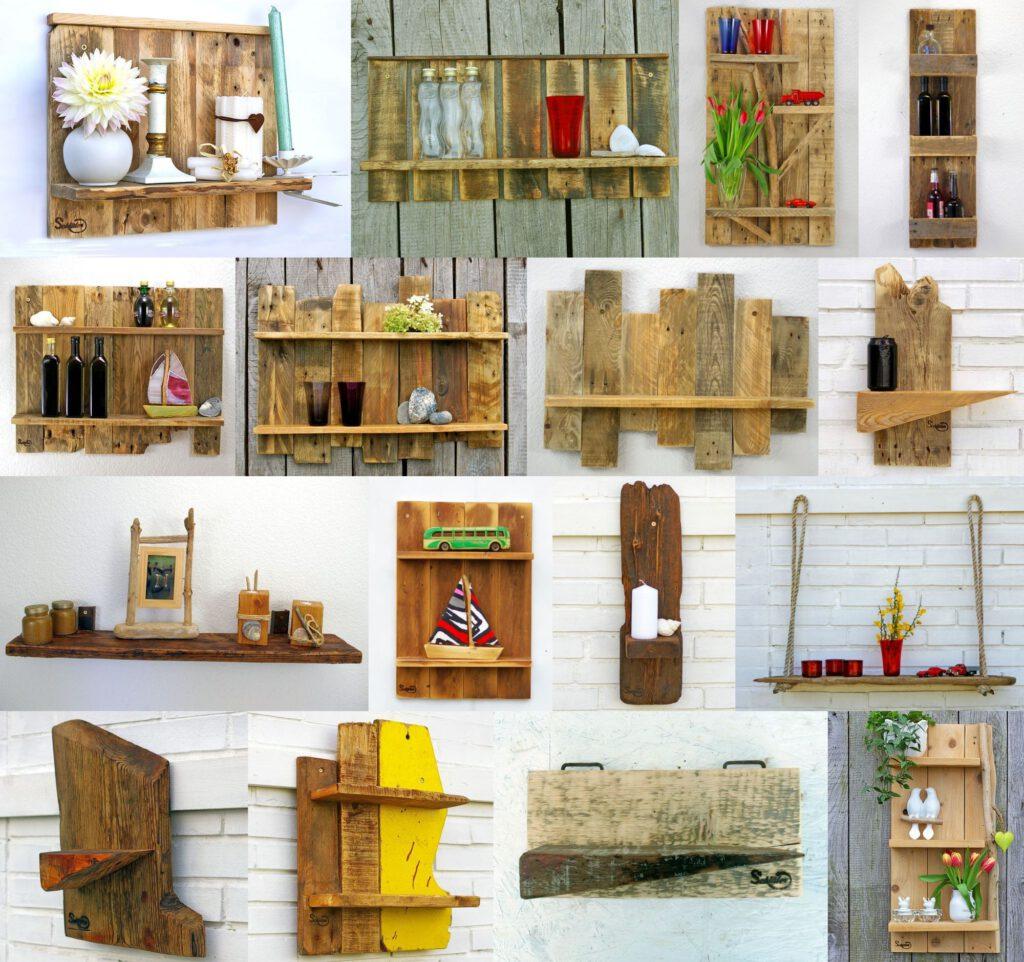 Regale aus Holz selbermachen, nachhaltig und kreativ