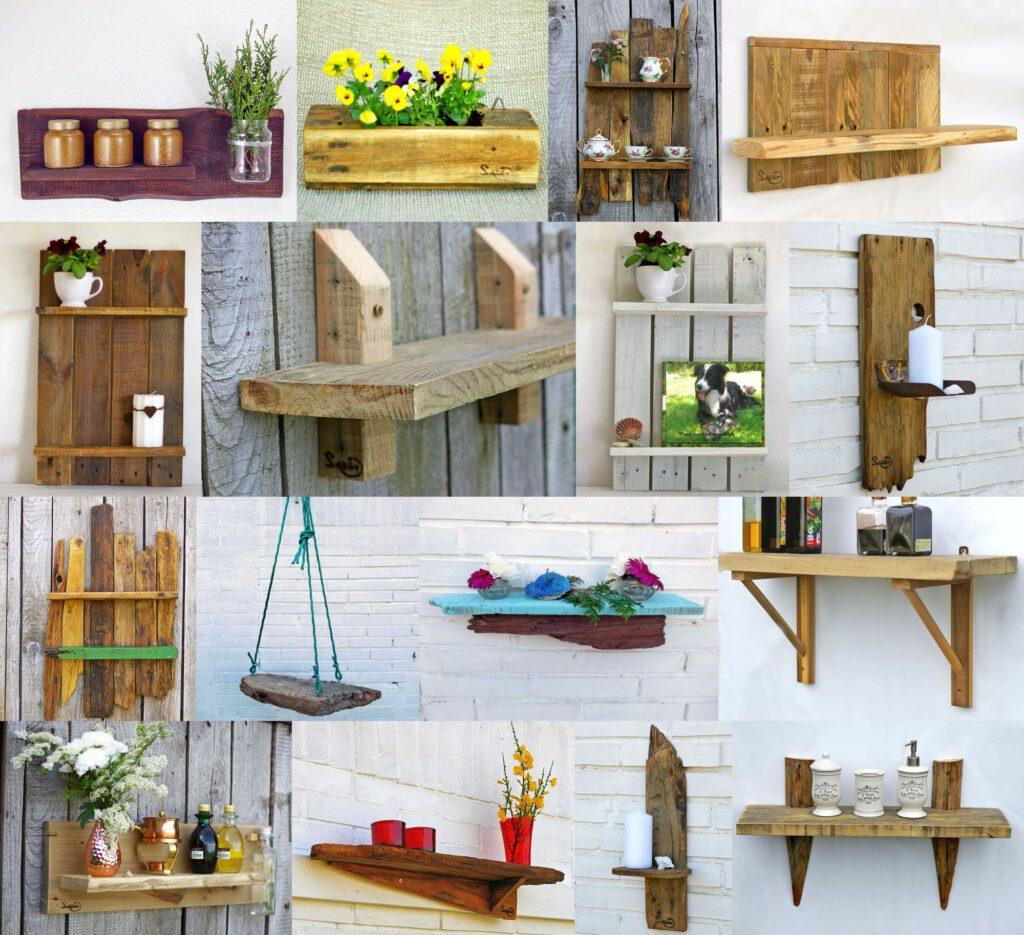 Ideen Sammlung für Holzregale zum Selbermachen von Schlueterhomedesign